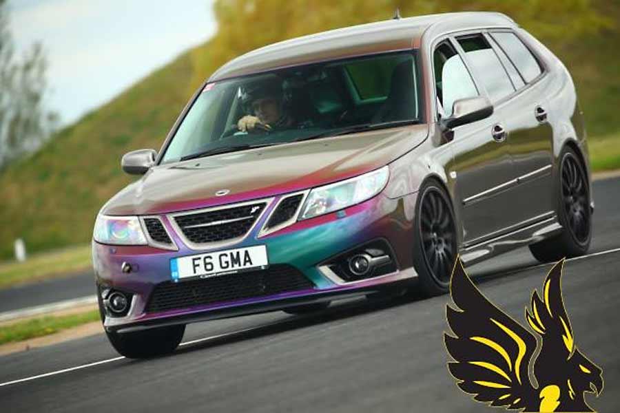 Gary's Saab 9-3 2 8T (382bhp) tuned by Aura Tuning