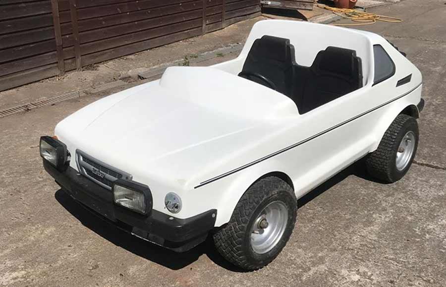 Turbo 006 mini car