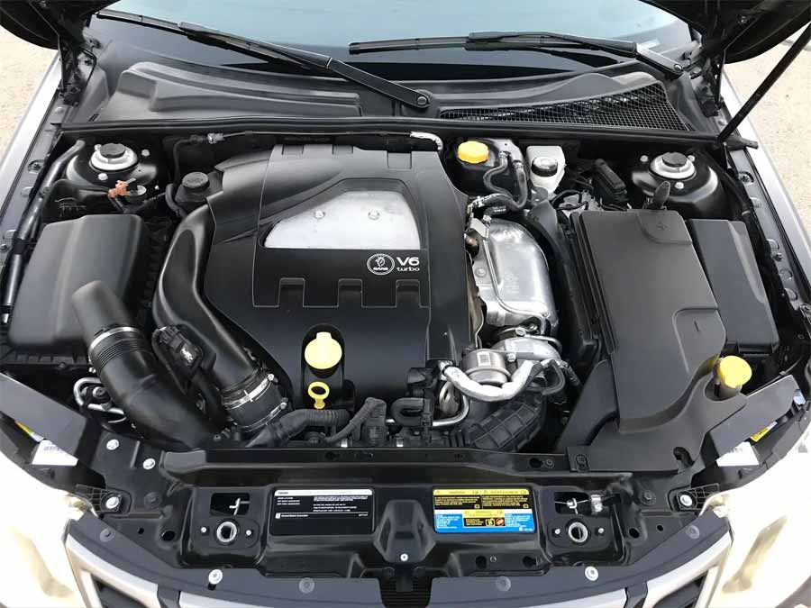 Under the hood, the new Holden 2.8 V6 engine
