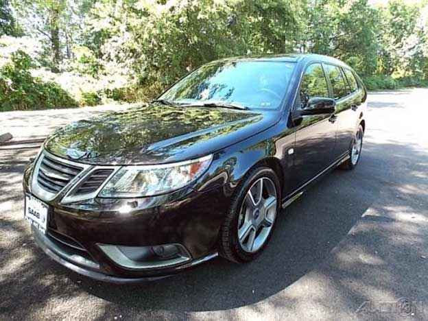 saab 9 3 turbo x sportcombi with just 12k miles for sale. Black Bedroom Furniture Sets. Home Design Ideas