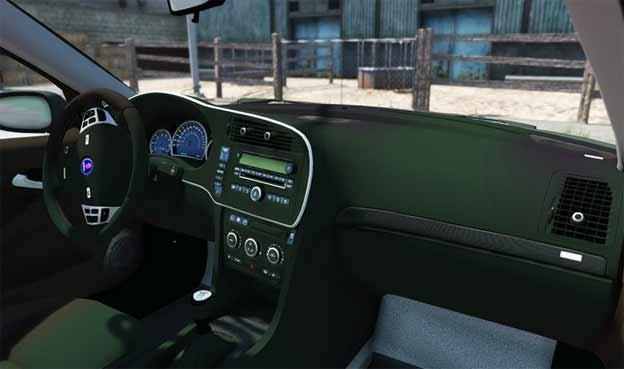 Saab Turbo X interior