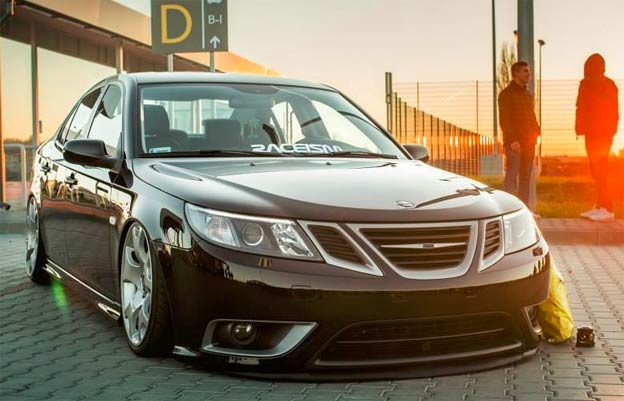 Rent-A-Saab 9-3 Turbo X for wedding!