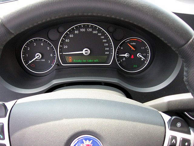 Speedometers: Saab 9-5 just 11% of speedometer unused