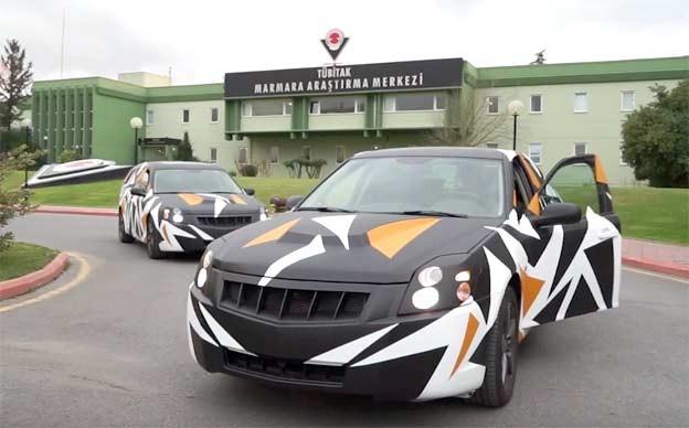 Turkish national car based on Saab 9-3