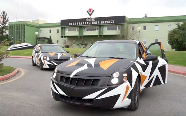 Turkish national car based on Saab 9-3