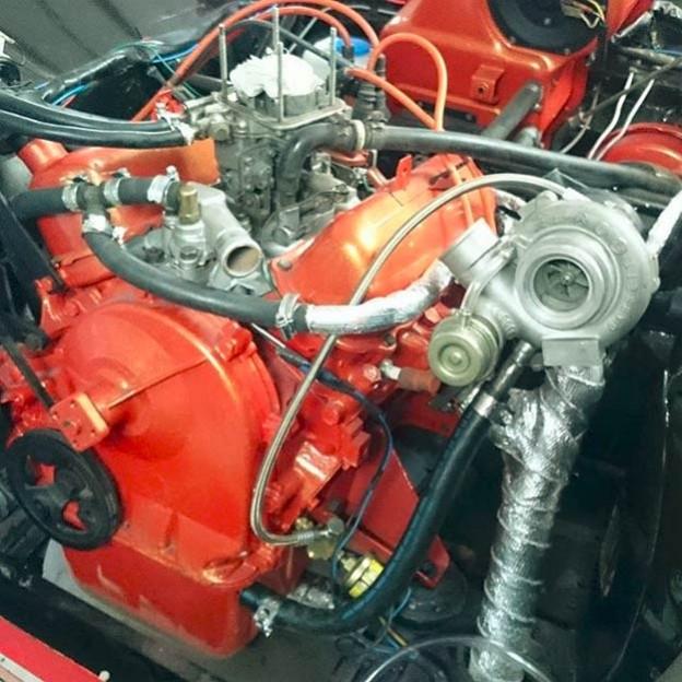 Saab V4 turbo