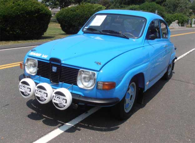 1970 Saab 96 V4 Rally Car on Sale
