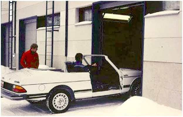 Valmet Saab 900 Cabrio