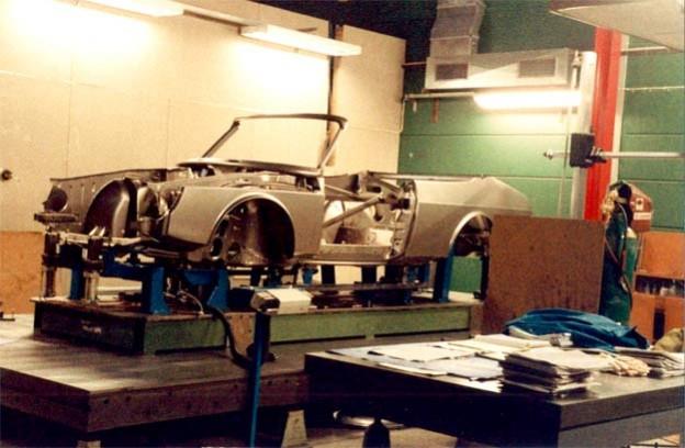 Valmet Automotive Saab 900 Cabrio's prototype