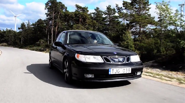 SAAB 9-5 video - I'm Vector