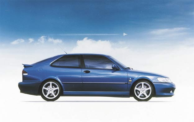 Saab 900 SVO Coupe Concept – prototype for the Saab 9-3 Viggen