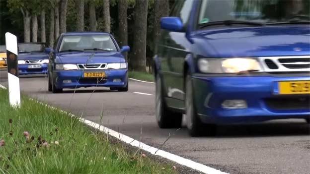 Saab Viggens at 2. International Saab Autumn Meeting