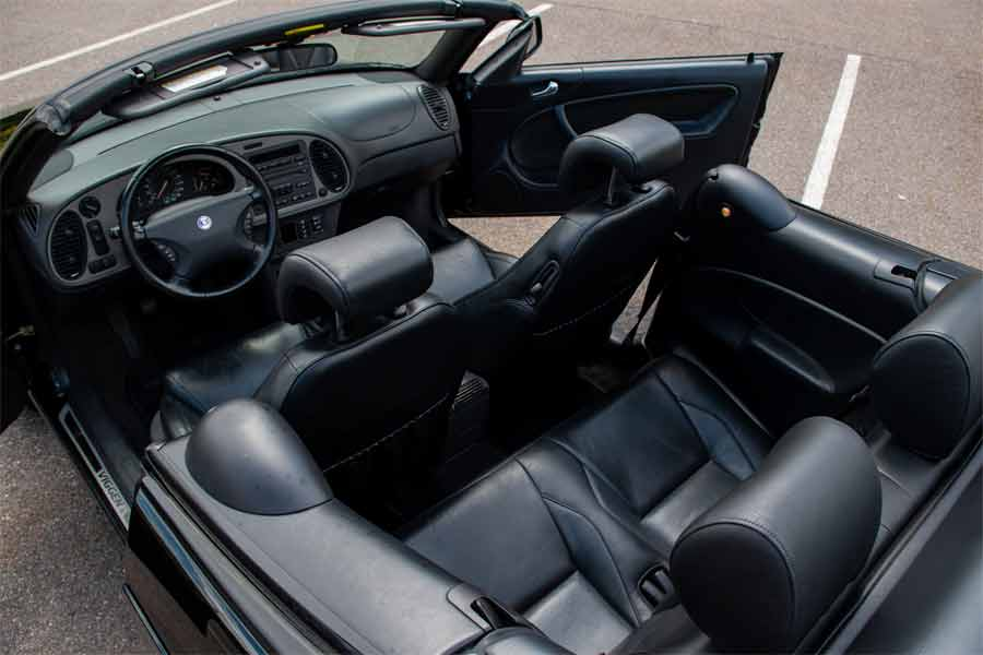 Saab Viggen Convertible Interior