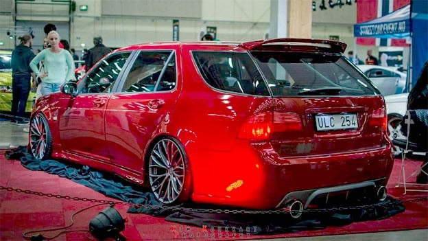 Widebody Saab 9-5