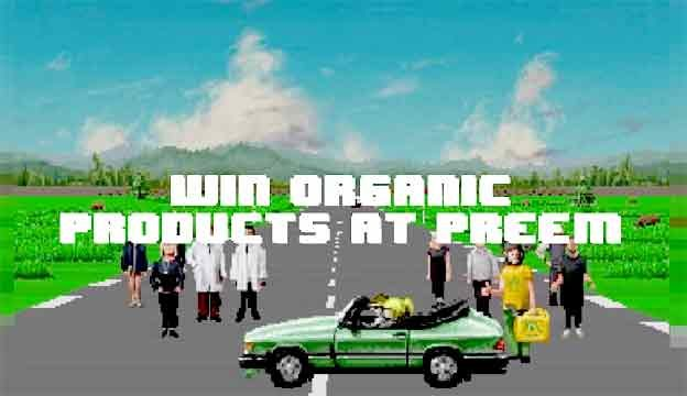 Win a organic products with Saab